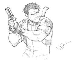 Chris Redfield by Max-Dunbar