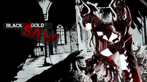 Black Rock Shooter: BlackGold Saw by Voltrux