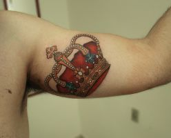 Crown Tattoo by FraH