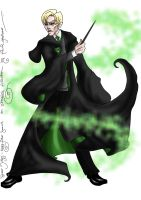 Draco Malfoy by hollano