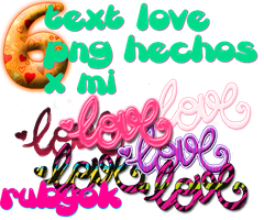 TEXTOS PNG LOVE 1 by rubyok