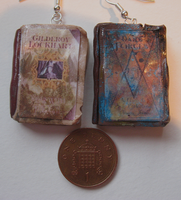 Spellbook Earrings by Reminiscexx