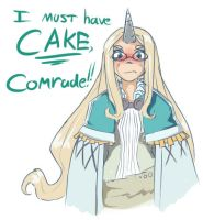 Let them eat cake (Rune Factory 3) by MOOMANiBE