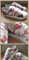 Customised Sneakers 08 by injuryordeath