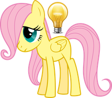 Filly Fluttershy HP Photosmart Icon by LostInTheTrees