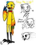 Picky the Parrot by PapiGa2012
