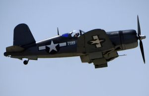 Vought F4U-1A Corsair Takeoff by shelbs2