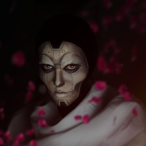 Jhin the Virtuoso makeup by Helen-Stifler
