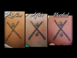Pool Tattoo Re-Work done by Sean Ambrose by seanspoison