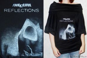 """The Cure - Reflections 2011"" shirt by AllCatsAreGreyART"