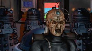 Davros and Daleks (Close up) by LEMIKEN