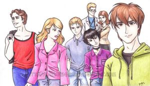 The Cullens by LazyJenny