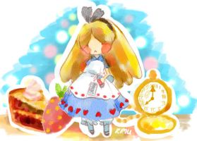 Alice Weirdness by Kimulepolyglotte