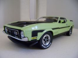 ford mustang boss 351 1971 pic 3 by EnriqueGomez