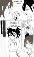 L's kiss page four by Yamikaisu