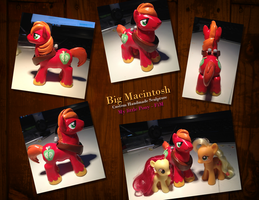 Big Macintosh Sculpture by Feyrah