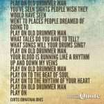 Play on old drummer man  by cloak27