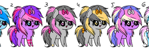 MLP adoptables 0/6 by Shikatey