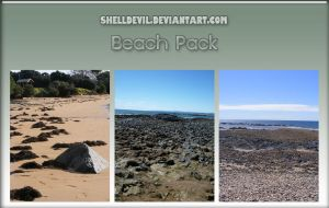 Beach Pack 22 by shelldevil