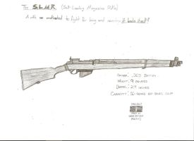 The Self-Loading Magazine Rifle, Calibre .303 by GrayManWolf
