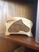 Horse Head Box w/out Paint FOR SALE by Riverthunder