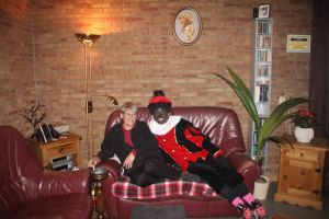 12-12-05 Mom and Zwarte Piet by Herdervriend