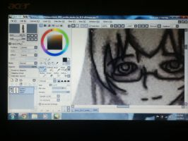Paint Tool Sai -first try- by Lil-9