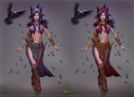 Smite Morrigan Concept by PTimm