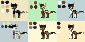 Adoptable Sheet 19 by Adrakables