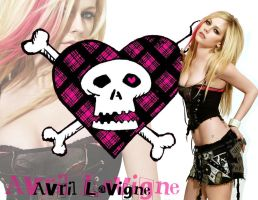 Avril Lavigne Wallpaper by CamiPop