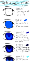 tutorial eyes colo (french) by Imahuu