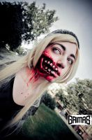 Zombie: Anette Aghazarian. Makeup: Ari Savonen. by NSFF