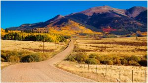 Country Dirt Roads Of Autumn by kkart