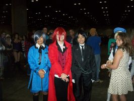 Megacon'14: Black Butler group by CronaBaby