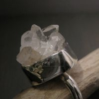 Ice cube ring by Jealousydesign