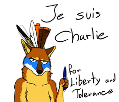 Je suis Charlie - Je suis Liberty by StanHoneyThief