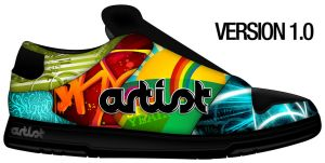 Artist Custom Shoe VERSION 1.0 by jhasson