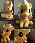 Baby Applejack by zuckerschnuti