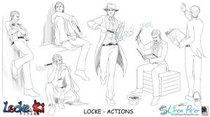 Locke Actions by LPDisney