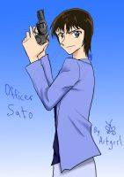 Officer Sato by TheArtgrrl