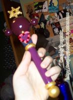 Sailor Pluto Henshin Wand by CosplayPropsEtc