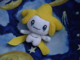 Jirachi Plush by punchedpurple