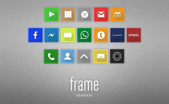frame shadowed icon-package 1 by BrainChecker