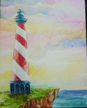Lighthouse  by Tamoko