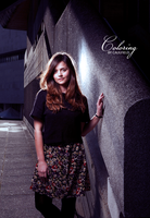 Coloring Jenna-Louise Coleman by LisCaulfield