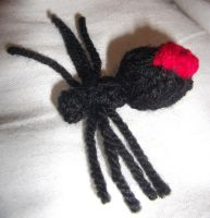 Itsy knitsy spider by foxymitts