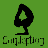 Circus Ambigrams 3: Contortion by Henry-Crun