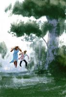 Spring Showers by PascalCampion
