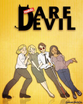 Daredevil: the Sitcom by ammdakin