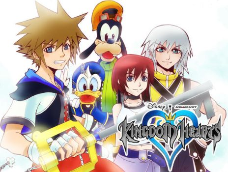 :: Kingdom Hearts :: by mazjojo